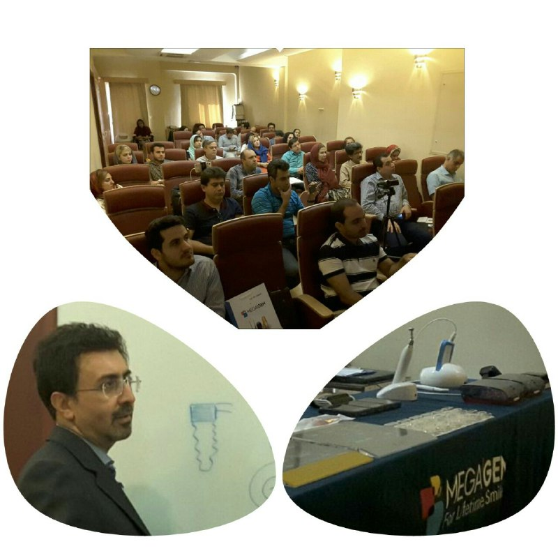 برگزاری دوره آموزشی سیستم AnyRidge ایمپلنت مگاژن